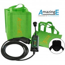 AmazingE, Level 2, 240V, 16 Amp EV Charging Station with Cable Wrap